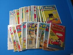 Peter Porkchops Comic Book Lot 1950and039s