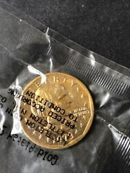 Susan B. Anthony 1979-s Dollar Coin,24kt Gold Plated,littleton Type 1, Proof