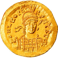 [906298] Coin Leo I Solidus Constantinople Au Gold Ric605