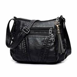Crossbody Bags For Women Pocketbooks Soft PU Leather Purses and Handbags Multi P $22.65
