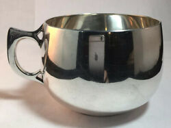 Sterling Silver Childs / Christening Cup Arts And Crafts
