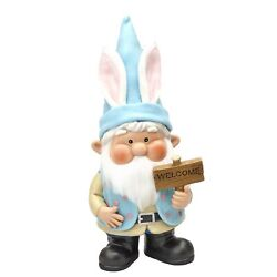 Cute Garden Gnome With Interchangeable Seasons Outfits - 4 Clothing Sets