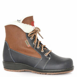 Martino Canadian Snow Park Womenand039s Boot 8.5 C/d Us - Navy/brown