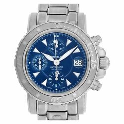 Sport 7034 Stainless Steel Blue Dial 41mm Automatic Watch