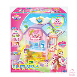 Catch Ping Teenieping Figure House + Heartsping Korea Animation Kids Toy