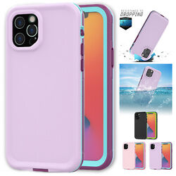 Waterproof Case For Iphone 12 12 Pro Max 12 Mini Shockproof Full Potection Cover