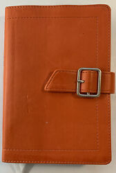 Ncv Compact Bible Magnetic Close Vg+ Orange Leathersoft Backpack