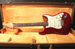 Fender Custom Shop 1960 Stratocaster Relic Candy Apple Red 2004 M1453