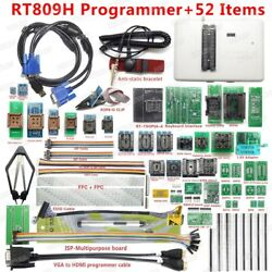 Universal Programmer Flash Extremely Fast Original Rt809h Emmc-nand +38 Items+ed