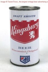 Rare And Clean 1960s Sheboygan Wisconsin Kingsbury Beer Red Label Tavern Trove