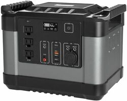 1000wh/300000mah Portable Power Station Portable Generator For Camping Emergency