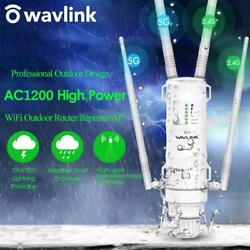 Wavlink High Power Ac1200 Outdoor Wireless Wifi Repeater Ap/wifi Router 1200mbps