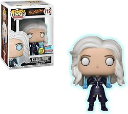 Funko Pop The Flash 712 Killer Frost Glow In The Dark Nycc 2018 Exclusive New