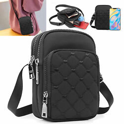 Cell Phone Pouch Case Shoulder Bag Women Small Cross body Purse Handbag Wallet $12.98