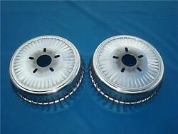 So-cal Speed Shop Rear Drum Covers Polished Finned Buick Style Drum 00162107