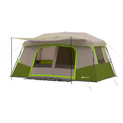 Instant Cabin Tent 11 Person Private Room Large Front Awning Outdoor Shelter