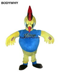 Hot Sale Classic Version Battle Chicken Mascot Mascot Costume Suits Cosplay Ad