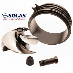 Solas Sea Doo Spark 2-up 3-up Impeller Sk-cd-13/18 W/ Wear Ring And Impeller Tool