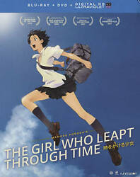 The Girl Who Leapt Through Time Blu-ray/dvd 2016 3-disc Set + Digital New
