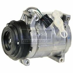 Denso 471-0705 Compressor W/ Clutch For 07-12 Acadia Enclave Outlook Traverse