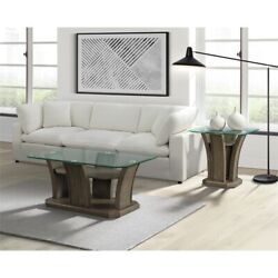 Picket House Furnishings Simms Rectangular Coffee Table In Grey