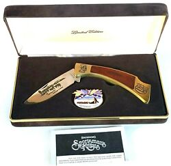 1987 Browning Iditarod Special Edition Knife With Case