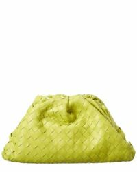 Bottega Veneta The Pouch Maxi Intrecciato Leather Clutch Women#x27;s Ns $2719.99