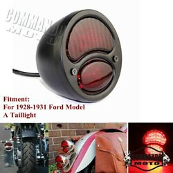 Motorcycle Led Tail Light Lamp For Ford Model A Duolamp Brake Stop Light 1928-31