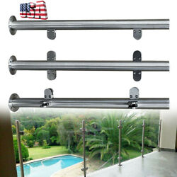 Hot High Glass 90cm Balustrade End Post Railing Glazing 304 Stainless Steel Usa