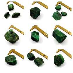 100 Natural Green Emerald Rough Mineral Specimen Nng3462-3489 Free Shipping