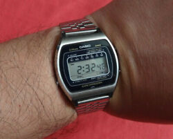 Vintage Casio 81qs-35 Module 81 Compatible With Marlin's / Lcd Digital Watch