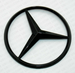 For Mercedes Coupe C217 Emblem Sticker Star Boot Trunk Badge Gloss Black 2014/16