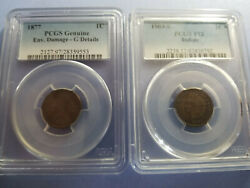 1857-1909 Indian Head Penny Cent Collection-complete 58 Beautiful Coin Set