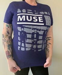 2013 Muse The 2nd Law World Tour Shirt Ladies T Shirt Sz. S