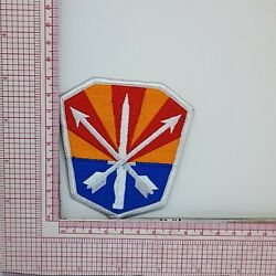 Vintage Arizona Army National Guard Logo Badge Applique