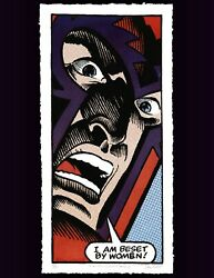 Magneto I Am Beset By Women Jesse Tannehill Signed 8 Of Ed 22 Sold Out
