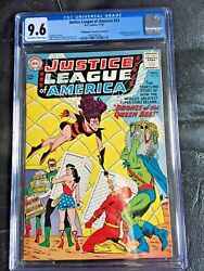 Justice League Of America 23 Cgc Nm+ 9.6 Ow-w Origin And 1st App. Queen Bee