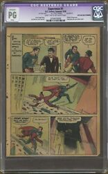 Superman 1 Page 9 Only Cgc Pg Reprints Last 2pgs 1st Story From Action Comics 1
