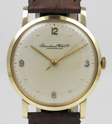 International Watch Company 18k Gold - Cal. 89 - Silver Dial 1964