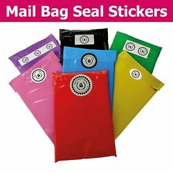 Cello Bag / Comex Mailing Postal Zip Seal Security Seal Stickers