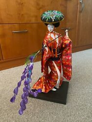 Vintage Yoshitoku Japanese Doll Bought In Tokyo In 1980 With Original Box