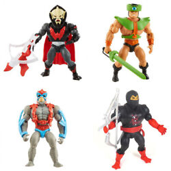 In Stock Masters Of The Universe Origins Wave 4 Hordak Tri-klops Stratos Ninjor
