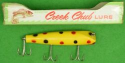 Abercrombie And Fitch Chub Creek Fishing Lure New/ Old Stock