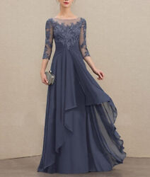 Women Formal Evening Party Dress Cocktail Prom Gowns Chiffon Sexy SIZE 20 22 $199.99