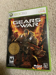 New Gears Of War Xbox 360 2006 White Label Factory Sealed Rare