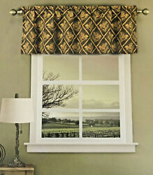 Pinecone Tapestry Valance Curtain Bedford Manor Cabin Camp Hunting Lodge
