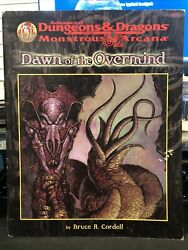 Dawn Of The Overmind -advanced Dungeons And Dragons Monstrous Arcana Bruce Cordell
