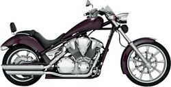 Vance And Hines 18421 Twin Slash Power Chamber Equipped Slip-on