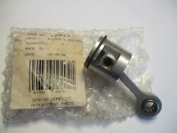 New Homelite Ht-17, 19, 22, Hx16 Piston Ring And Rod  Pn A-01014-d, Up07213