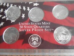 2003-s Nickels 40 Coins Cameo Proof Roll N New Tube From Silver Proof Set
